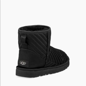 1561b7e3356 Women Black Quilted Ugg Boots on Poshmark